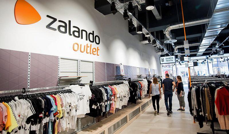 Outletový obchod německého řetězce s oblečením Zalando. Zdroj  Zalando ea6e203d6b